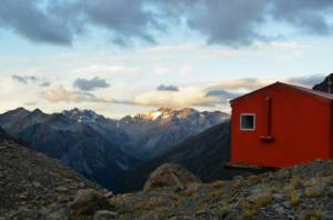 Barker hut